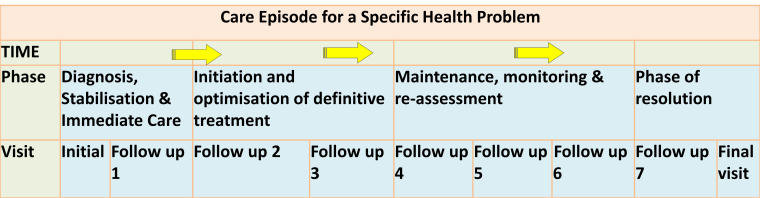 Care Plan for Phase of an Episode